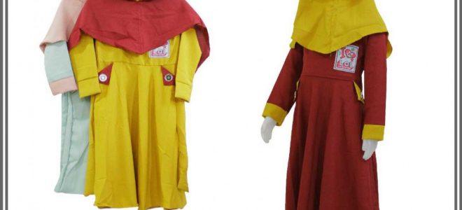 Pusat Grosir Baju Murah Solo Klewer 2021 Konveksi Gamis Aisyah Kids Murah di Solo