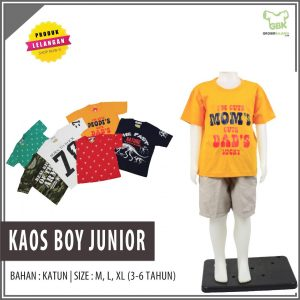 Pusat Grosir Baju Murah Solo Klewer 2021 kaos boy junior