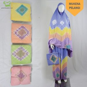 Pusat Grosir Baju Murah Solo Klewer 2019 Mukena Pelangi
