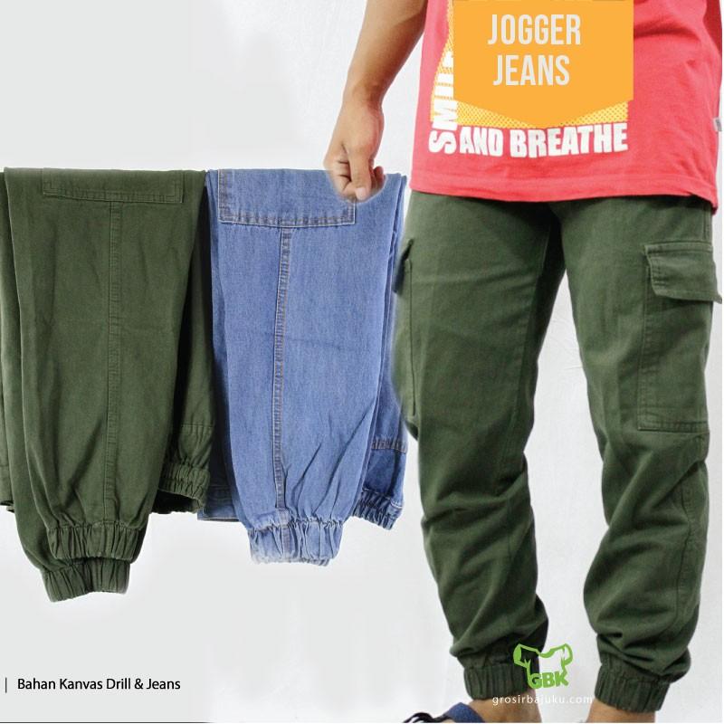 Pusat Grosir Baju Murah Solo Klewer 2019 Distributor Jogger Jeans Murah di Solo
