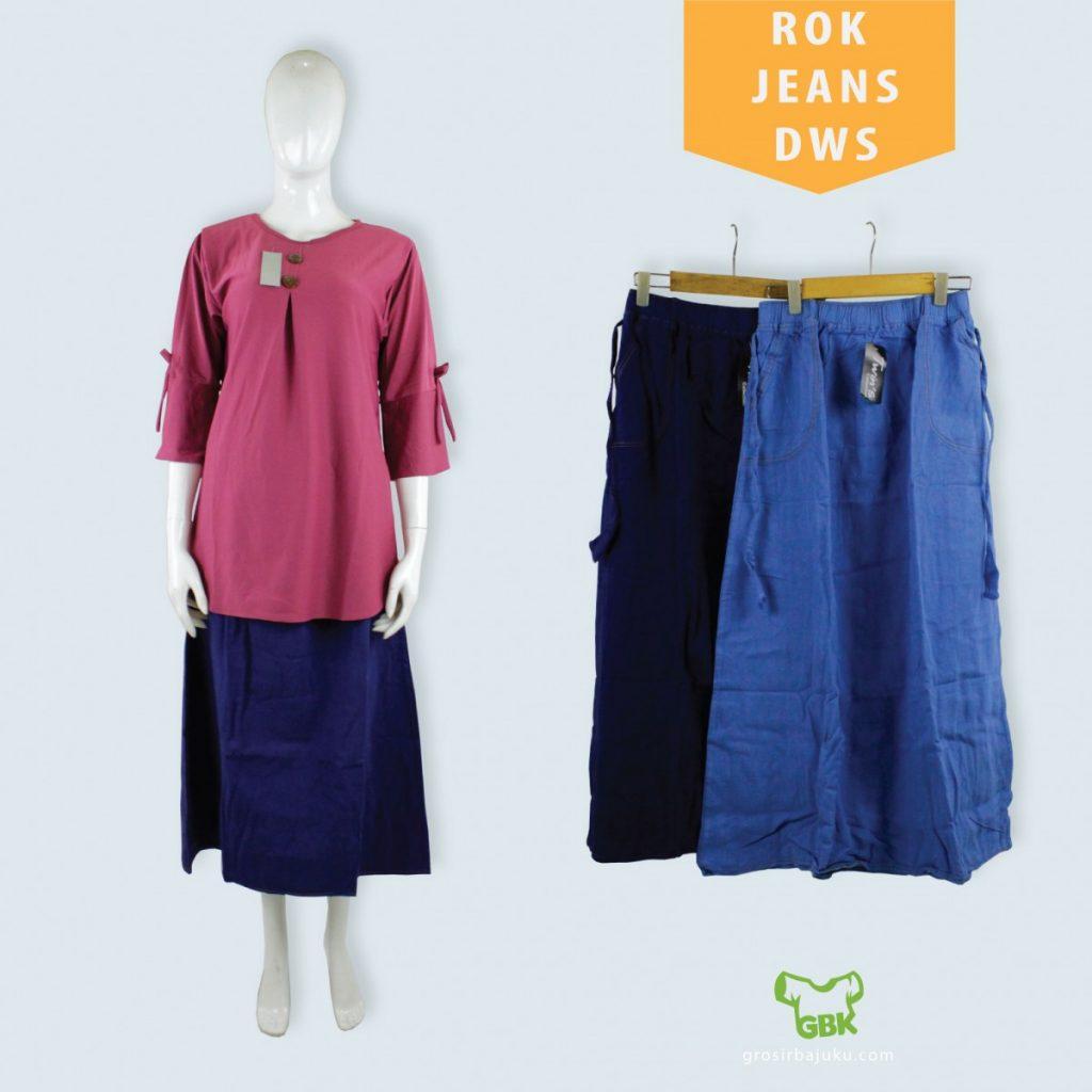 Pusat Grosir Baju Murah Solo Klewer 2019 Supplier Rok Jeans Dewasa Murah di Solo