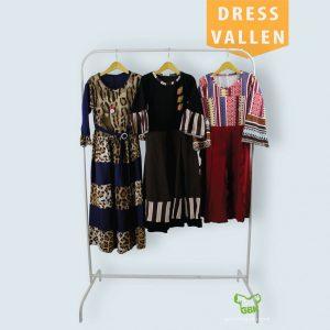 Pusat Grosir Baju Murah Solo Klewer 2019 Dress Vallen