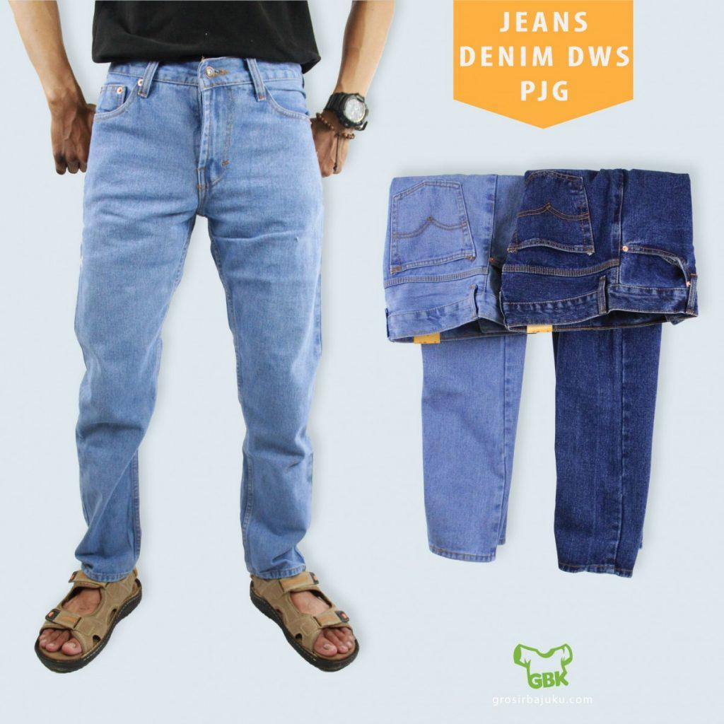 Pusat Grosir Baju Murah Solo Klewer 2021 Produsen Jeans Denim Dewasa PJ Murah di Solo