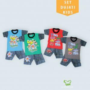 Pusat Grosir Baju Murah Solo Klewer 2019 Set Dujati Kids