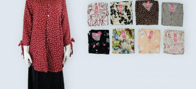 Pusat Grosir Baju Murah Solo Klewer 2019 Supplier Tunik Faniya Dewasa Murah di Solo