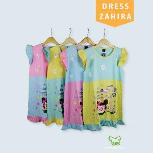 Pusat Grosir Baju Murah Solo Klewer 2019 Dress Zahira Anak Murah