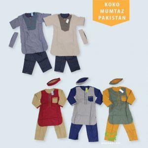 Pusat Grosir Baju Murah Solo Klewer 2021 Koko Mumtaz Pakistan Anak