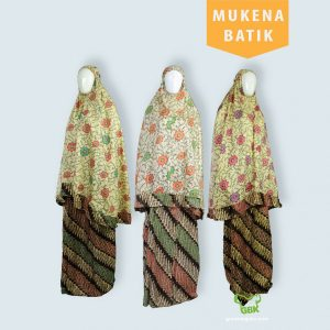 Pusat Grosir Baju Murah Solo Klewer 2021 Mukena Batik Dewasa