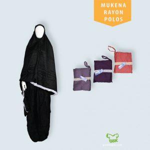Pusat Grosir Baju Murah Solo Klewer 2021 Mukena Rayon Polos Dewasa