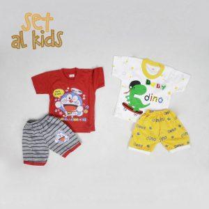 Pusat Grosir Baju Murah Solo Klewer 2019 Setelan AL Kids Murah