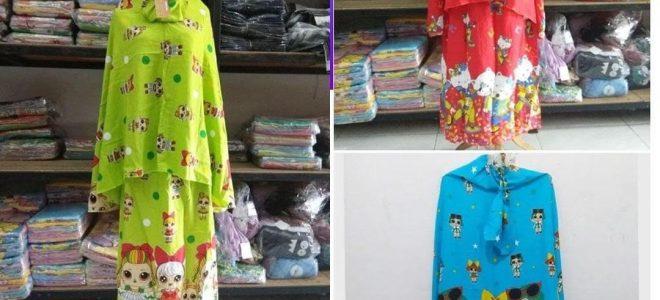 Pusat Grosir Baju Murah Solo Klewer 2021 Grosir Mukena Bali Anak Rp. 49.000