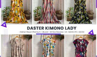 Pusat Grosir Baju Murah Solo Klewer 2021 DISTRIBUTOR DASTER KIMONO LADY RP 50.000