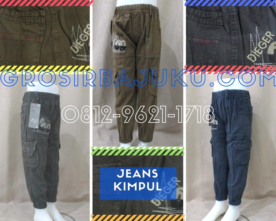 Pusat Grosir Baju Murah Solo Klewer 2019 Distributor Celana Jeans Kimpul Anak Laki Laki Murah 35Ribu