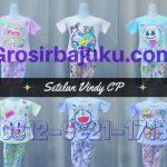 Pusat Grosir Baju Murah Solo Klewer 2018 Distributor Setelan Vindy CP Anak Perempuan Murah Mulai Rp.18.000 di Solo