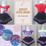Pusat Grosir Baju Murah Solo Klewer 2018 Grosir Dress Pita Anak Perempuan Karakter Murah di Solo 21Ribu