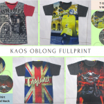 Pusat Grosir Baju Murah Solo Klewer 2018 Konveksi Kaos Oblong Fullprint Anak Laki Laki Murah di Solo 15Ribu