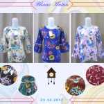 Pusat Grosir Baju Murah Solo Klewer 2018 Supllier Blouse Katun Wanita Dewasa Murah Terbaru 28Ribu