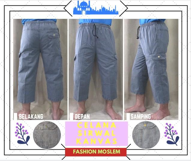 Pusat Grosir Baju Murah Solo Klewer 2019 Grosir Celana Sirwal Kanvas Pria Dewasa Murah 35Ribu