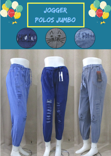 Pusat Grosir Baju Murah Solo Klewer 2019 Grosir Celana Jogger Jeans Jumbo Wanita Dewasa Murah Solo 40Ribu