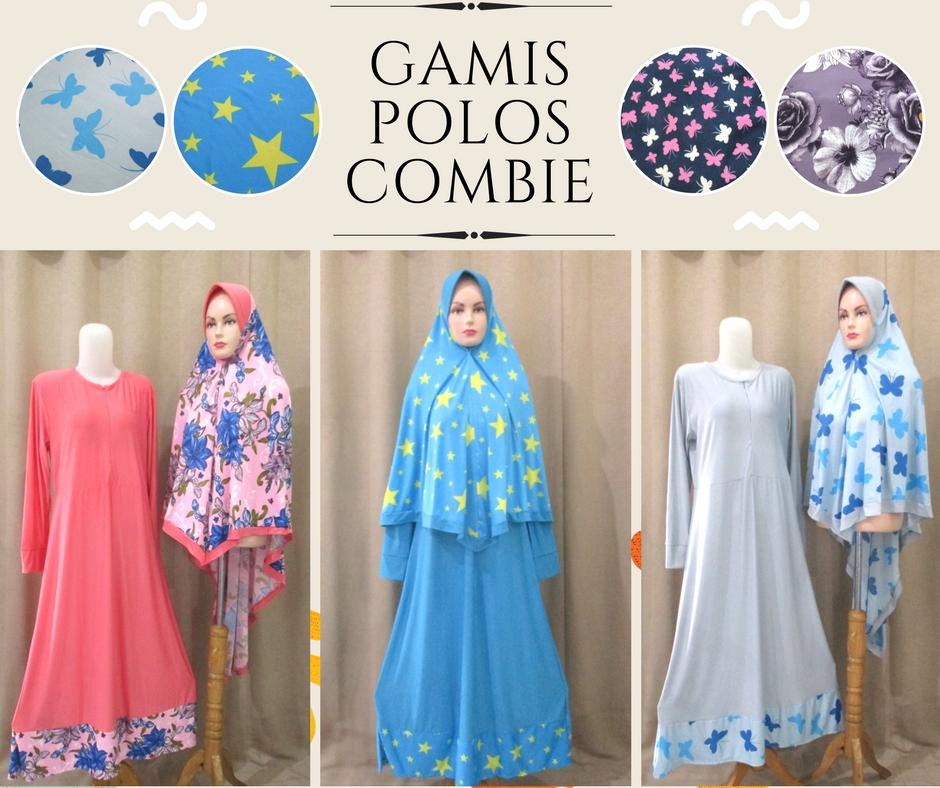 Pusat Grosir Baju Murah Solo Klewer 2019 Distributor Gamis Polos Combie Dewasa Syari Murah di Solo 66Ribu