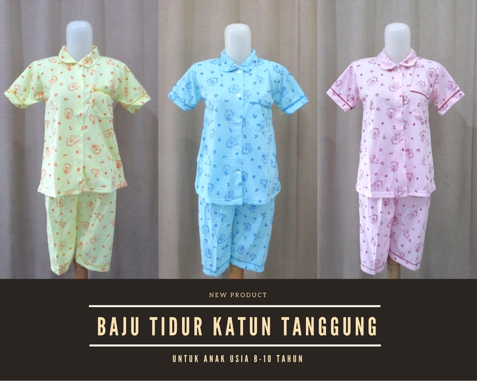 Pusat Grosir Baju Murah Solo Klewer 2021 Grosir Baju Tidur Katun Anak Tanggung Termurah di Solo 18Ribu