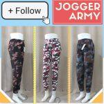Pusat Grosir Baju Murah Solo Klewer 2018 Distributor Celana Jogger Army Wanita Dewasa Murah di Solo 22Ribu