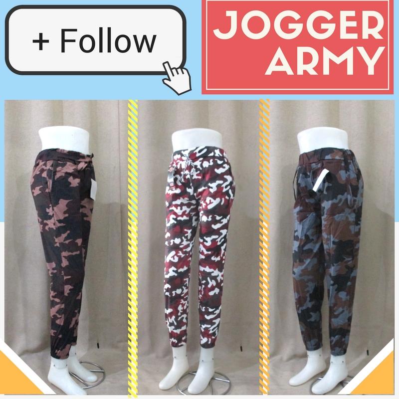 Pusat Grosir Baju Murah Solo Klewer 2019 Distributor Celana Jogger Army Wanita Dewasa Murah di Solo 22Ribu