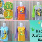 Pusat Grosir Baju Murah Solo Klewer 2018 Pabrik Kaos Distro ABG Karakter Banana Murah di Solo 24Ribu