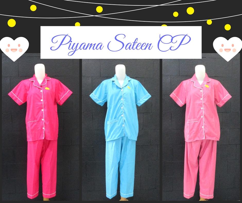 Pusat Grosir Baju Murah Solo Klewer 2019 Produsen Piyama Sateen Celana Panjang Dewasa Murah di Solo 58Ribu
