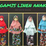 Pusat Grosir Baju Murah Solo Klewer 2018 Agen Gamis Linen Anak Perempuan Syar'i Termurah di Solo 78Ribu