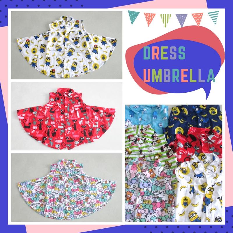 Pusat Grosir Baju Murah Solo Klewer 2021 Produsen Dress Umbrella Karakter Anak Perempuan Murah di Solo 22Ribu