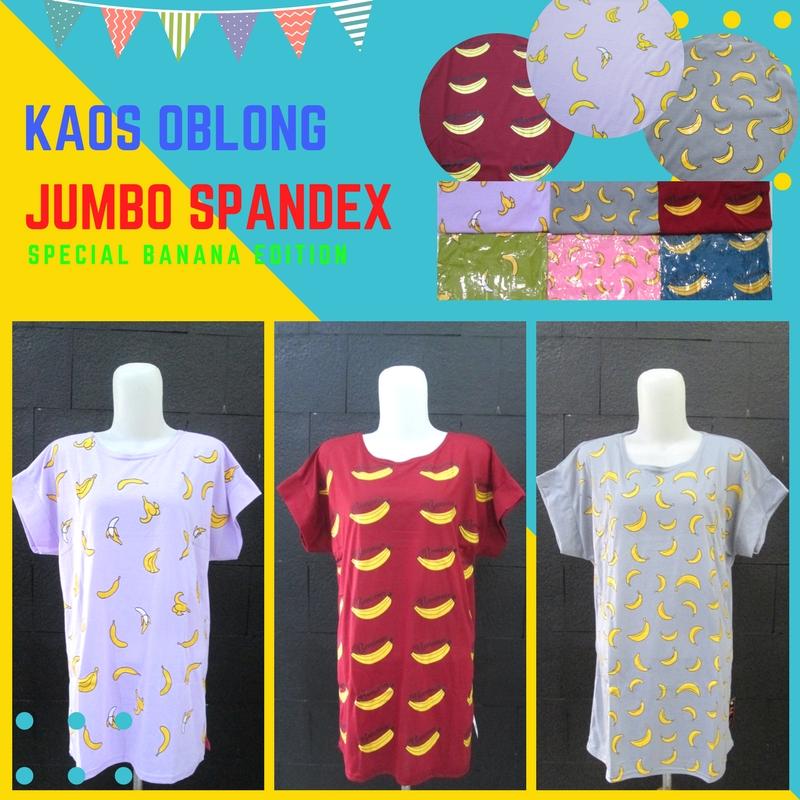 Pusat Grosir Baju Murah Solo Klewer 2019 Supplier Kaos Oblong Jumbo Banana Dewasa Murah di Solo 13Ribu