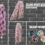 Pusat Grosir Baju Murah Solo Klewer 2018 Produsen Celana Kulot Kashibo Wanita Dewasa Murah di Solo 32Ribu