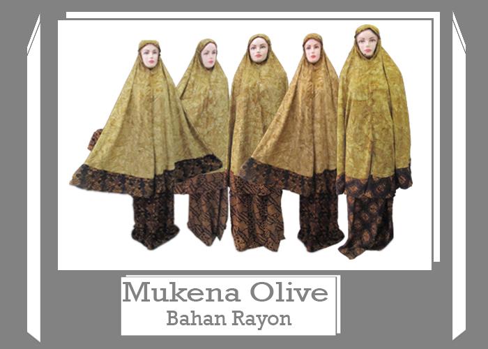 Pusat Grosir Baju Murah Solo Klewer 2019 Produsen Mukena Olive Dewasa Murah di Solo 90ribuan