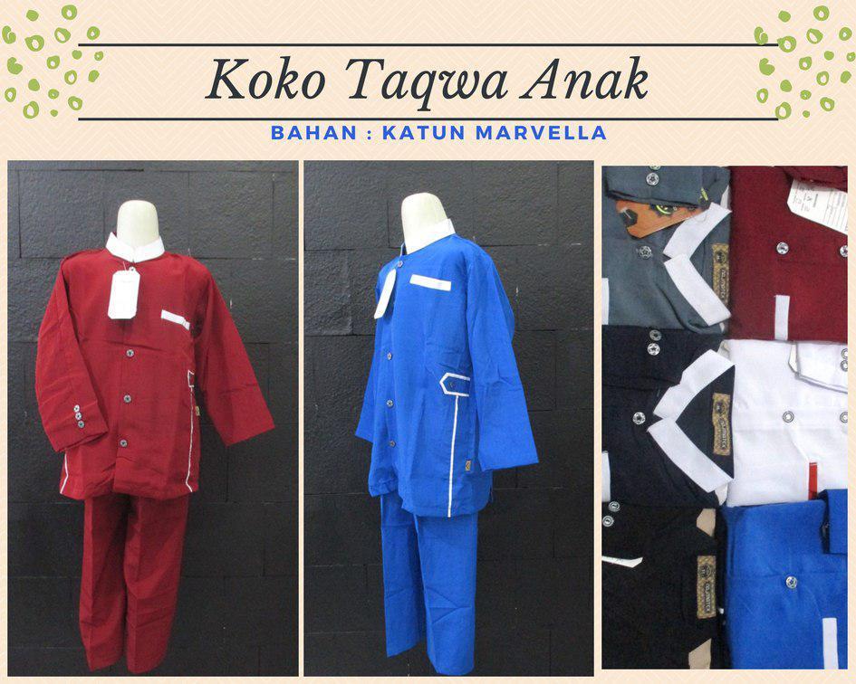 Pusat Grosir Baju Murah Solo Klewer 2019 Pabrik Baju Koko Taqwa Anak Laki Laki Murah di Solo 52Ribu