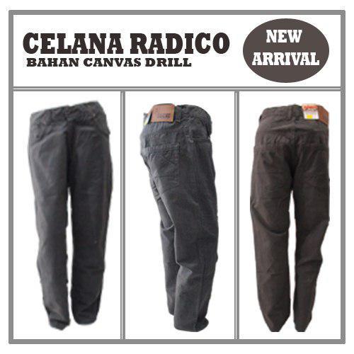 Pusat Grosir Baju Murah Solo Klewer 2021 Agen Celana Radico Pria Dewasa Branded Murah di Solo 72Ribu