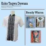 Pusat Grosir Baju Murah Solo Klewer 2018 Distributor Koko Taqwa Dewasa Murah di Solo 45ribuan