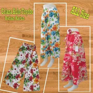 Pusat Grosir Baju Murah Solo Klewer 2021 Grosir Celana Kulot Perempuan Murah 35ribuan