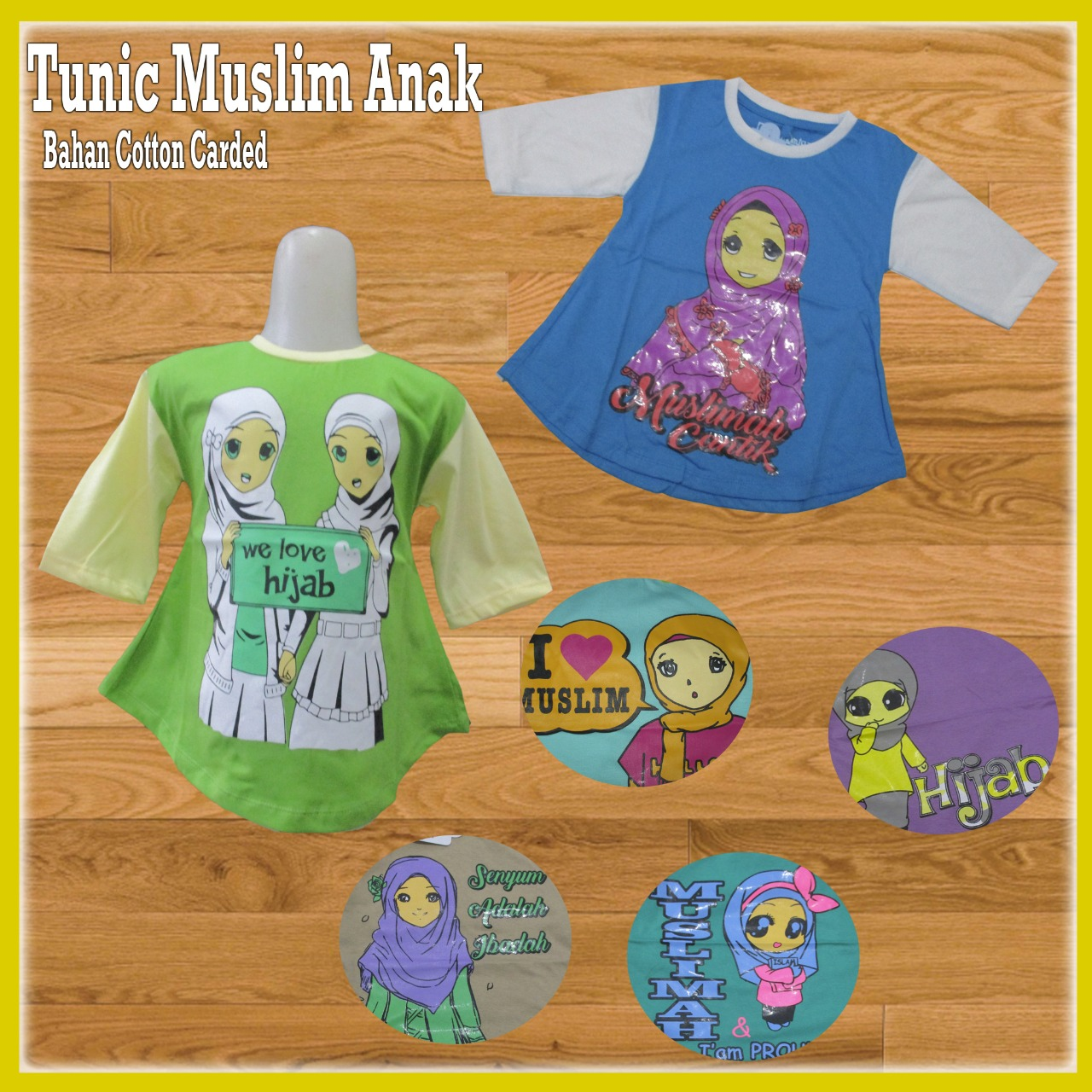 Pusat Grosir Baju Murah Solo Klewer 2019 Grosir Tunic Muslim Anak Murah 18ribuan