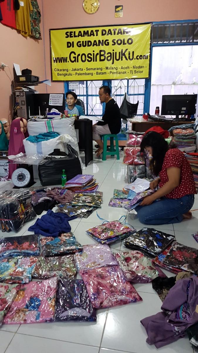 Grosir Baju Murah Pasar Klewer Solo ~ Pusat Grosir Baju ...