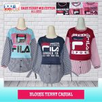 Pusat Grosir Baju Murah Solo Klewer 2018 Supplier Blouse Terry Casual Murah di Solo