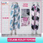 Pusat Grosir Baju Murah Solo Klewer 2018 Supplier Celana Kulot Toyobo Murah di Solo