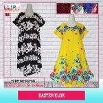 Pusat Grosir Baju Murah Solo Klewer 2018 Distributor Daster Klok Murah di Solo