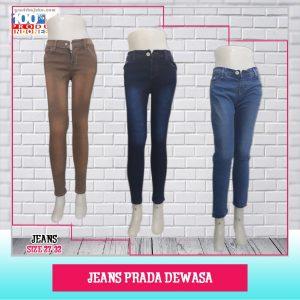 Pusat Grosir Baju Murah Solo Klewer 2021 Jeans Prada Dewasa