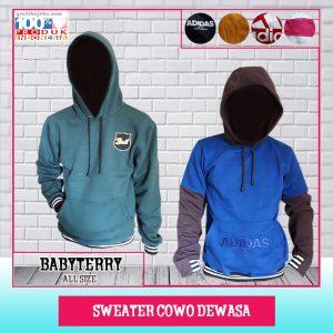 Pusat Grosir Baju Murah Solo Klewer 2021 Sweater Cowo Dewasa