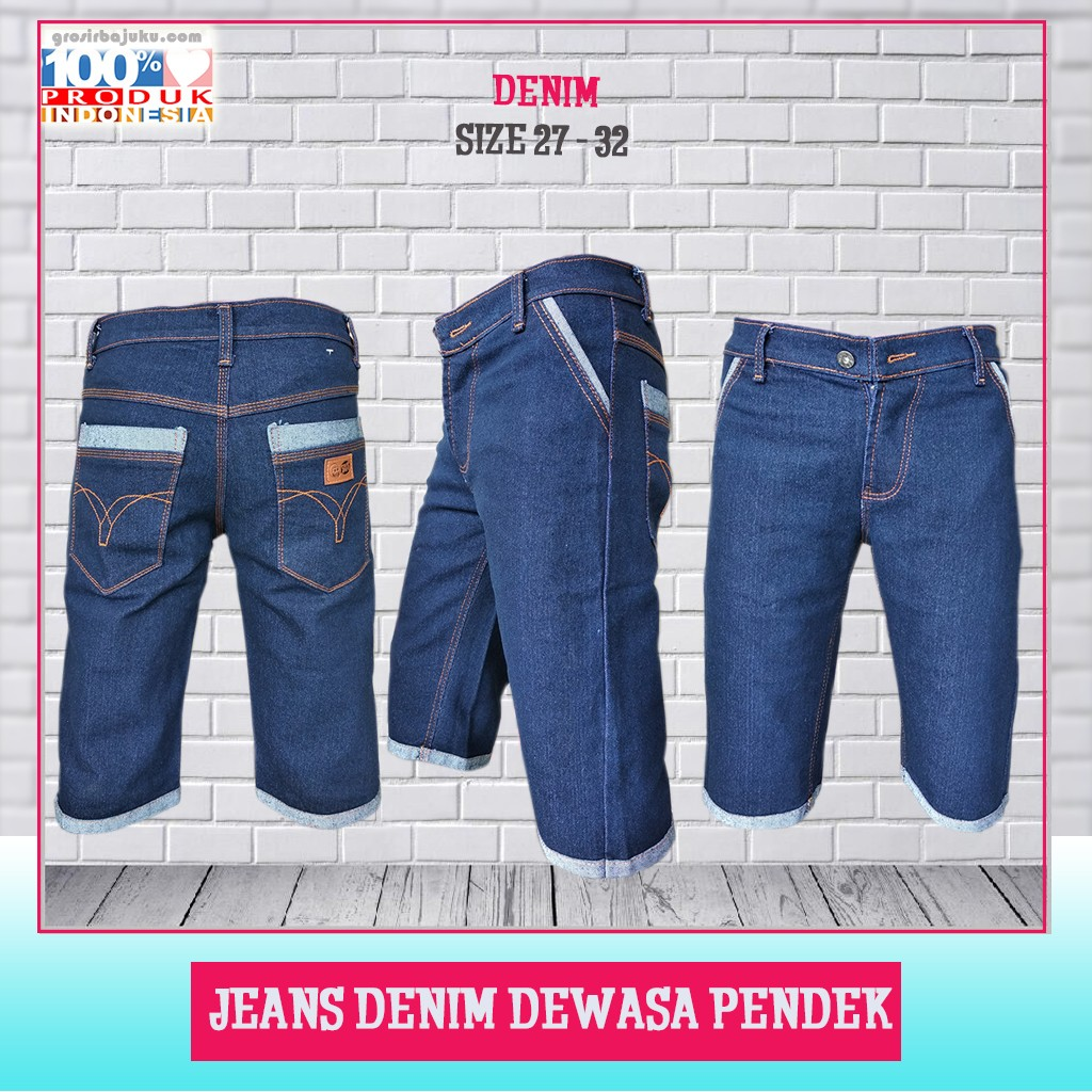 Pusat Grosir Baju Murah Solo Klewer 2021 Pusat Jeans Denim Dewasa Pendek Murah di Solo