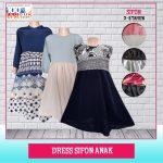 Pusat Grosir Baju Murah Solo Klewer 2018 Distributor Dress Sifon Anak Murah di Solo