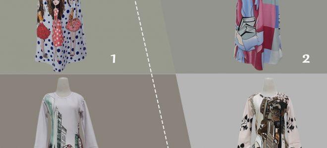 Pusat Grosir Baju Murah Solo Klewer 2021 Bisnis Gamis Scuba Tanggung Murah di Solo