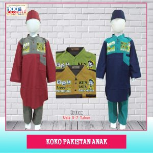 Pusat Grosir Baju Murah Solo Klewer 2021 Koko Pakistan Anak