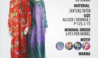 Pusat Grosir Baju Murah Solo Klewer 2019 Supplier Daster DL Jumbo Murah di Solo